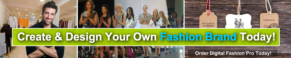 Create and design your own fashion brand